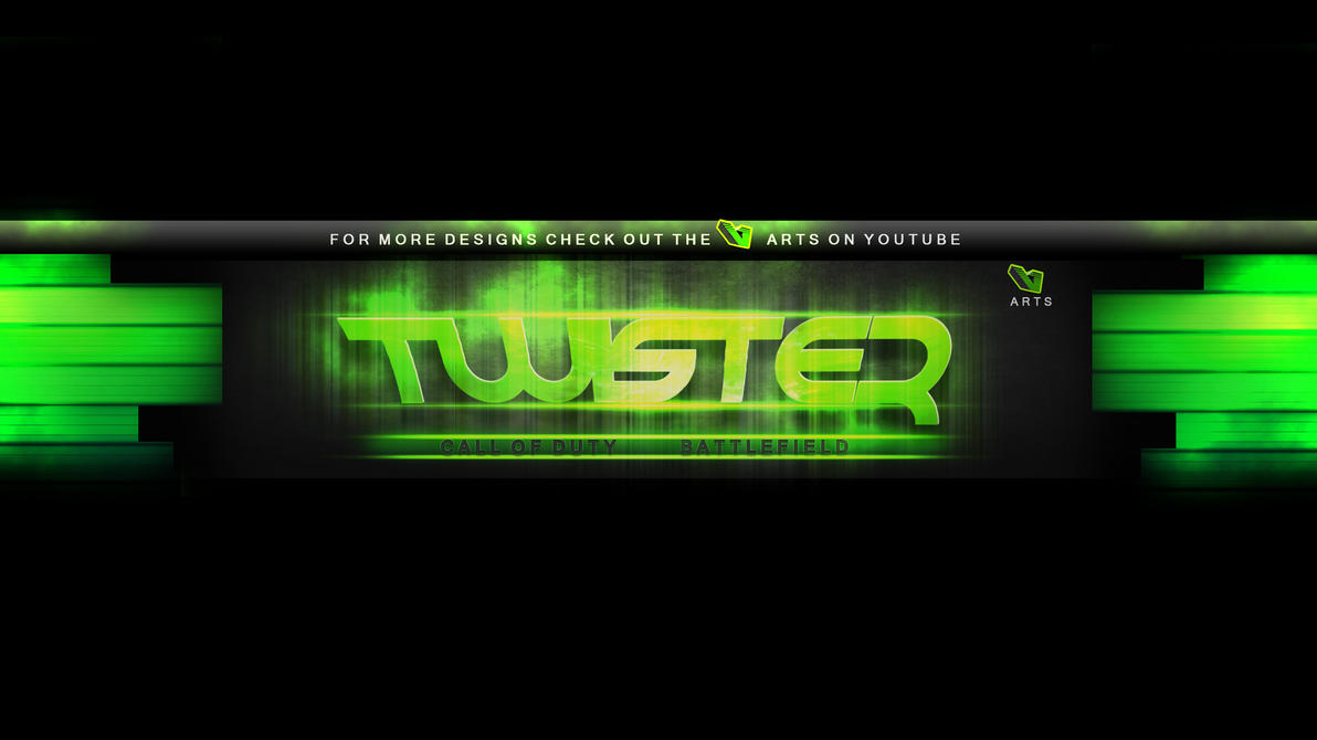 Youtube Banner  The Twister By TheVarts On DeviantArt