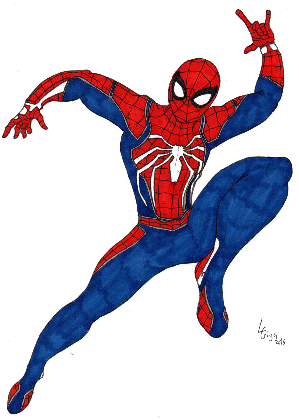 Spider Man Ps4 Insomniac Games By Clemi1806 On Deviantart
