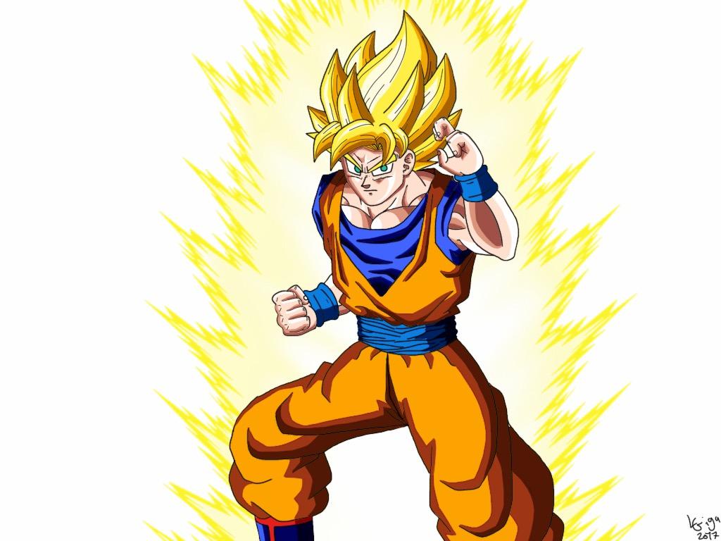 Son Goku SSJ by Clemi1806