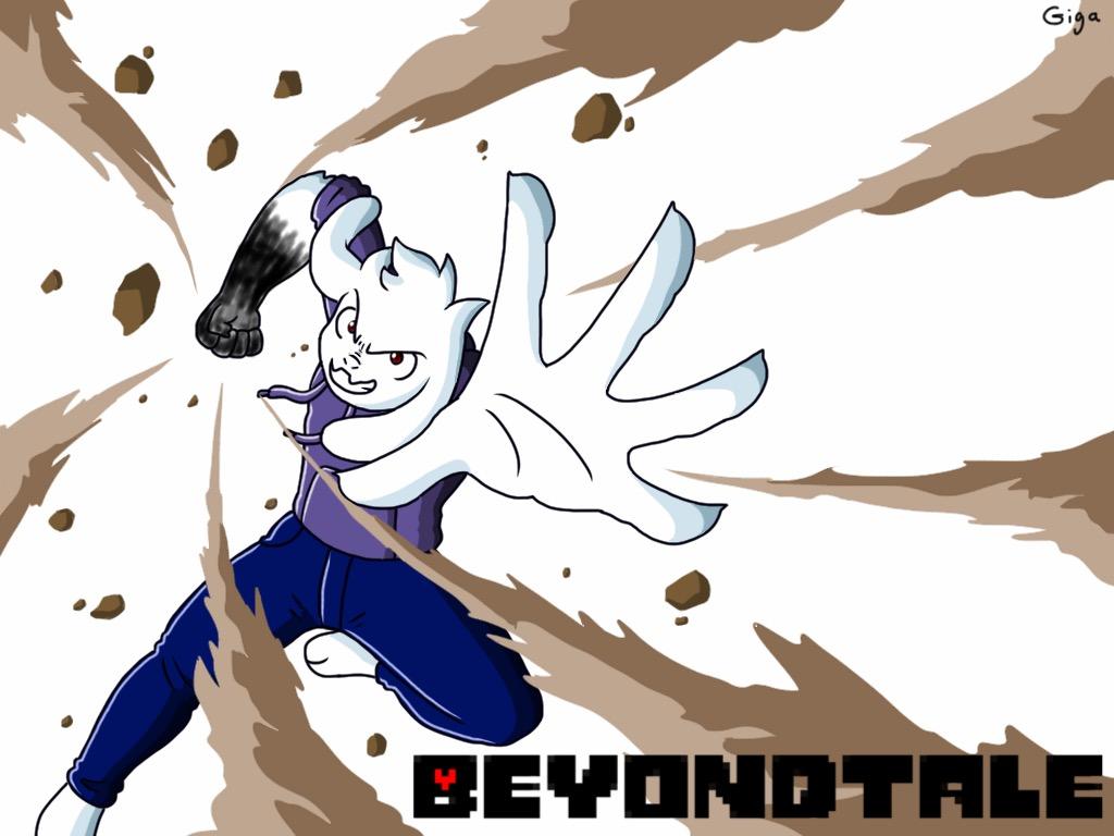 Beyondtale Asriel by Clemi1806