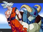Goku vs Moro : Round 2