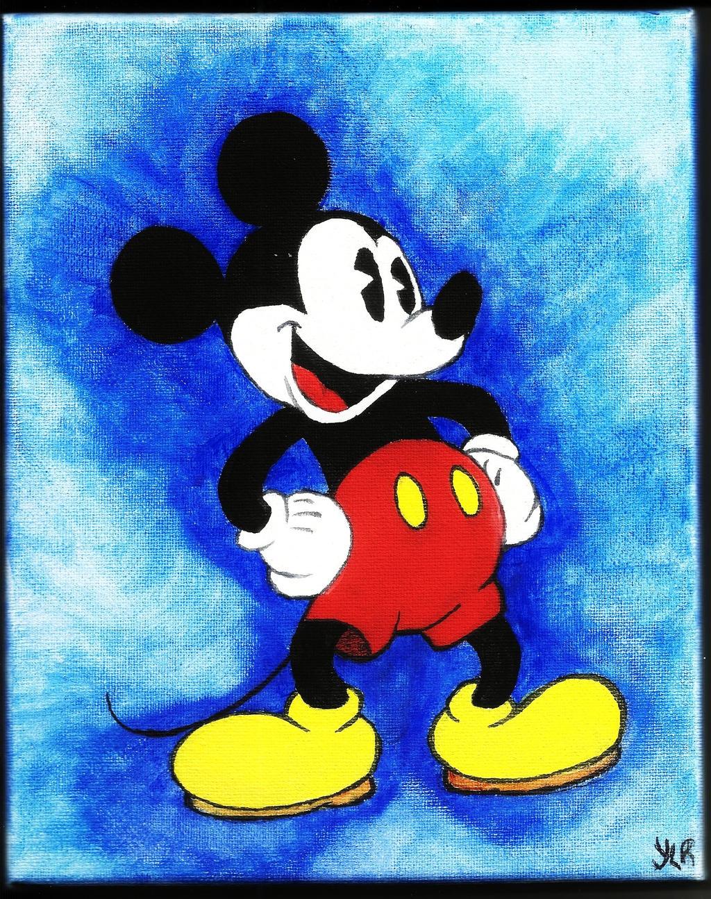 Mickey Mouse Painting by VerseaPetrova on DeviantArt
