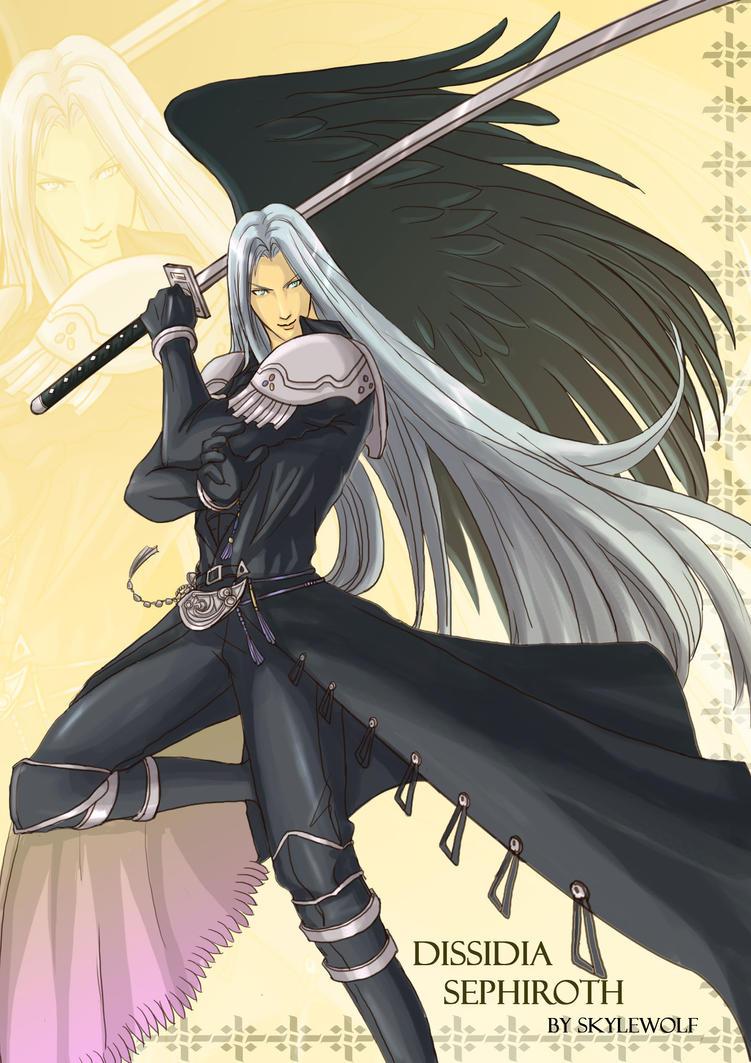 Sephiroth by SkyleWolf