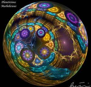 Planeticious Marbelicious