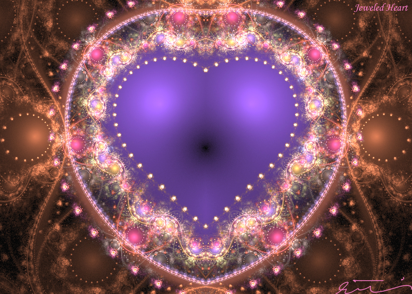 Jeweled Heart