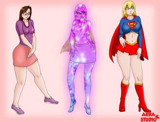 supergirl transformation