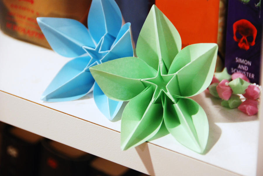 Origami Flowers Carambola Images Flower Decoration Ideas Gallery