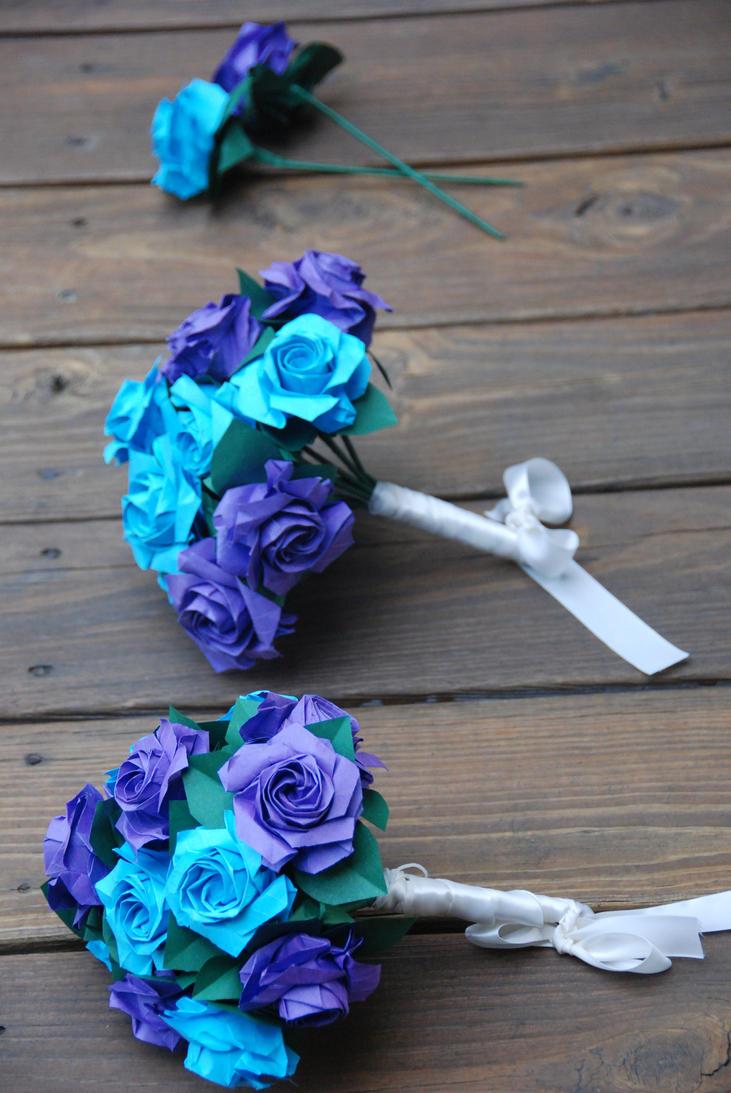 Wedding Flowers Blue Purple: Flower picture. New style handflower ...