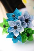 Mini Kusudama Bouquet by lisadeng