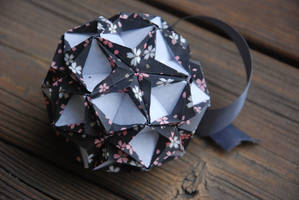 Origami Christmas Ornament by lisadeng