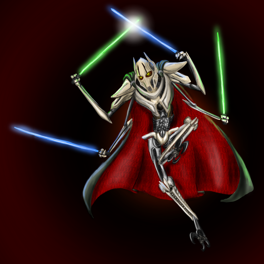 General Grievous Wallpaper: General Grievous By Cryophase On DeviantArt