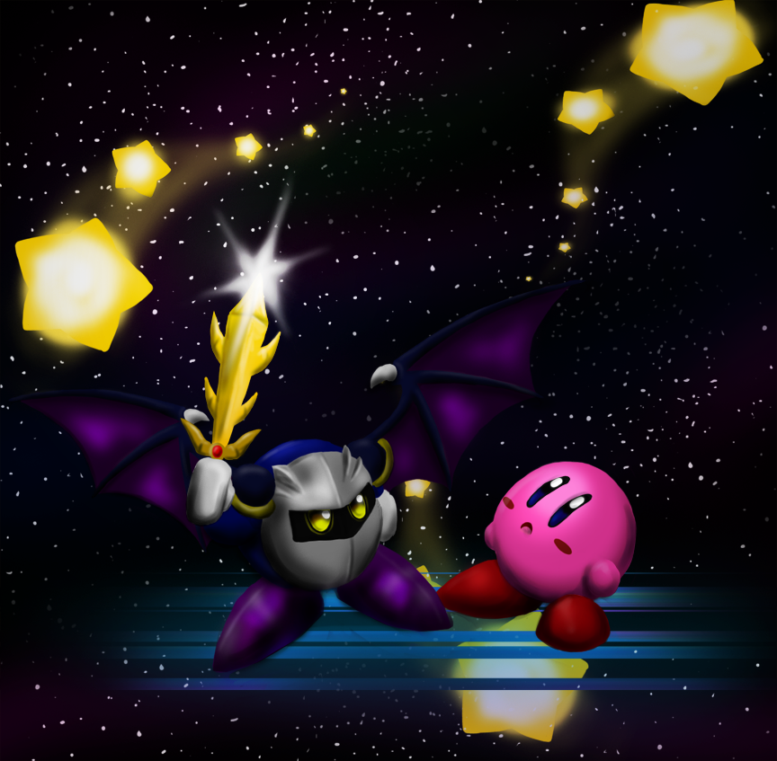 meta knight and kirby relationship