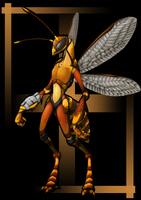 Mantispid by Cryophase