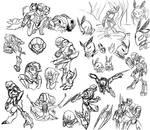 Metroid Doodle Compilation