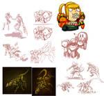 Metroid Sketch compilation
