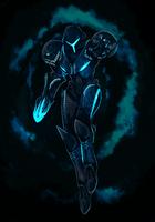 Dark Samus by Cryophase