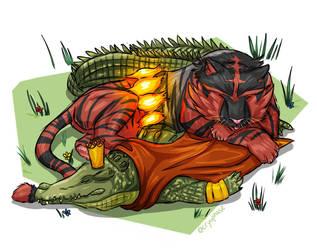 Cuddle Puddle by Cryophase