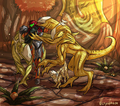 Grateful Lizards by Cryophase