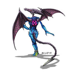 Zero Suit Ridley by Cryophase