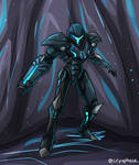 Commission - Neo Dark Samus