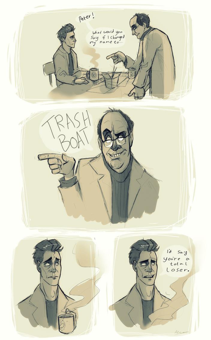Spider-man: Trash Boat by LameReaper