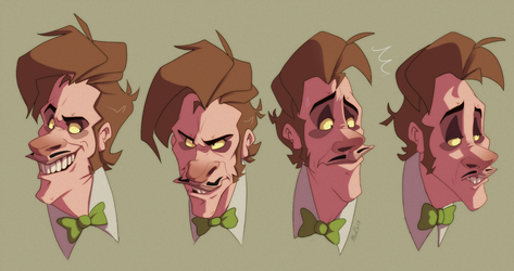Rudy Expression Sheet by LameReaper