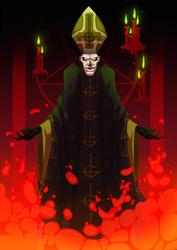Papa Emeritus III by LameReaper