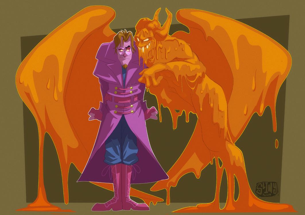 Kradiel and Drak by LameReaper