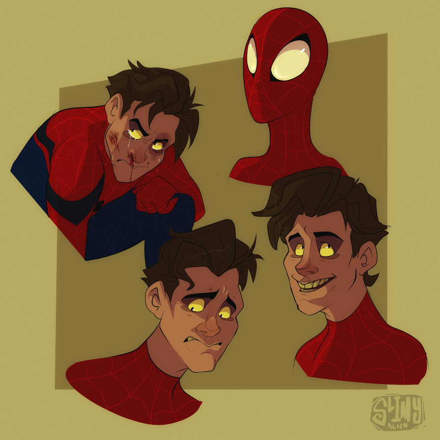 Peter Parkers by LameReaper