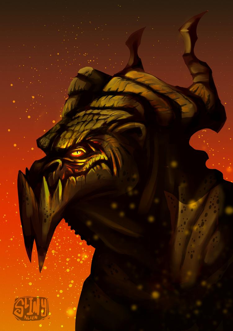 it's dragon by LameReaper