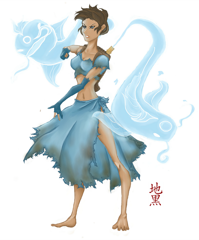 Sedna: Water Bender by Jikuro