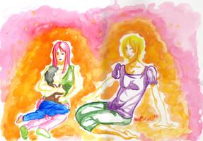:Alma: Watercolour by DreamGazer-NightAnge