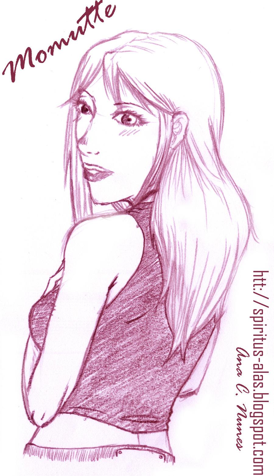 :Sketch: Momutte by DreamGazer-NightAnge