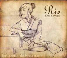 :Sketch: Rie by DreamGazer-NightAnge