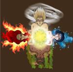 Four Elements by DreamGazer-NightAnge