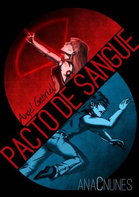 Angel Gabriel - Pacto De Sangue (Capa)