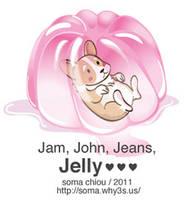 Jelly Corgi by somachiou