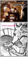 Hobbit and Dragon