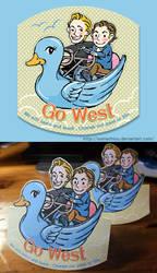 Go West by somachiou