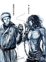 Sherlock S3-Brothers by somachiou