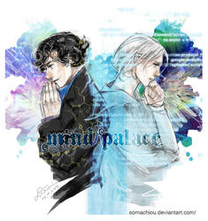 Sherlock and Assange by somachiou