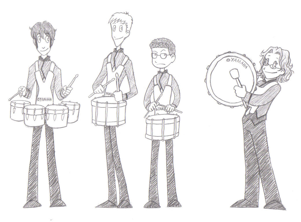 BAND Drumline 1 By Heavensong