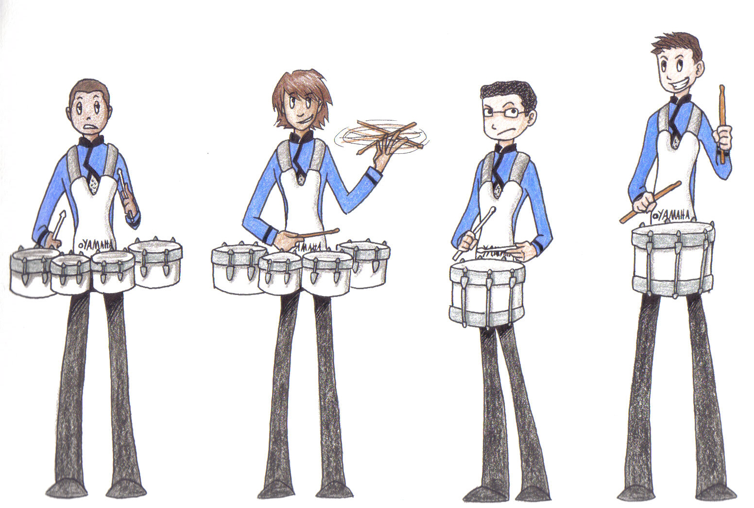 Drumline redux by heavensong on DeviantArt