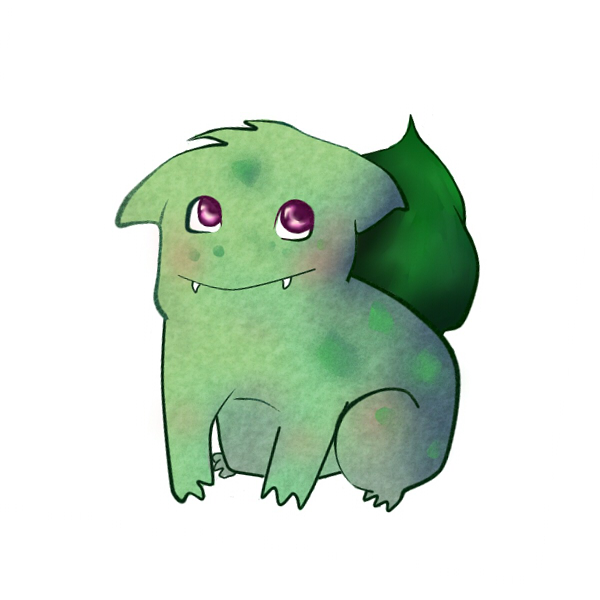 Monty the Bulbasaur by Asolus