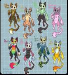 OPEN - Skullcat Adopts!