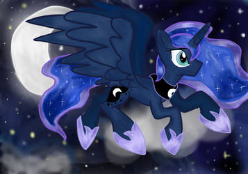 Moon Horse by vitalitoast
