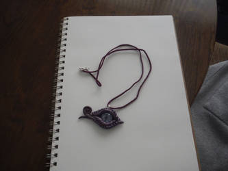 Dragon's Eye Necklace by SideQuestPublication