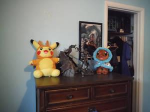 I have a dresser!