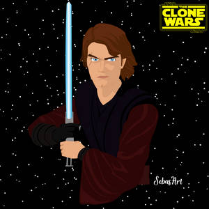 ANAKIN SKYWALKER -STAR WARS THE CLONE WARS