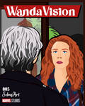 ON A VERY SPECIAL EPISODE... -WANDAVISION by SebasArtStudio